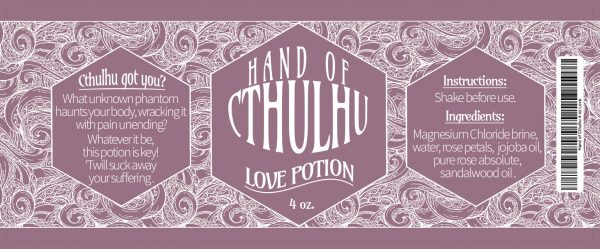 Hand of Cthulhu - Love Potion
