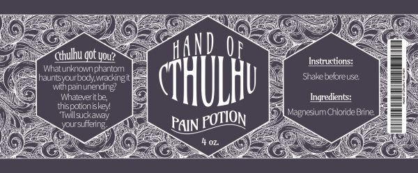 Hand of Cthulhu - Pain Potion