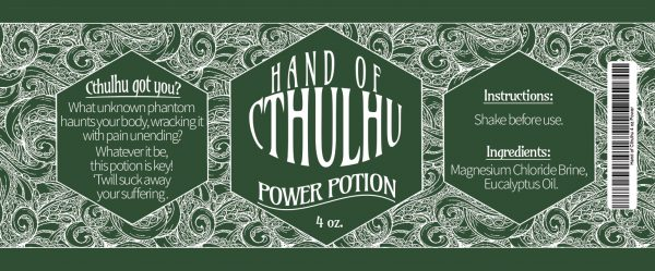 Hand of Cthulhu - Power Potion